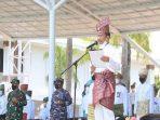 Wali Kota Batam Muhammad Rudi Saat Upacara Hari Jadi ke 19 Provinsi Kepri