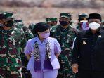 Gubernur Kepri Ansar Ahmad Saat Bersama Panglima TNI, Marskal TNI Hadi Tjahjanto beserta istri dan rombongan