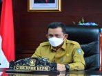 Gubernur Kepri Ansar Ahmad Saat Entry Meeting