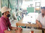 Ketua Aliansi Nelayan Natuna (ANNA), Hendri – baju putih – saat dikonfirmasi