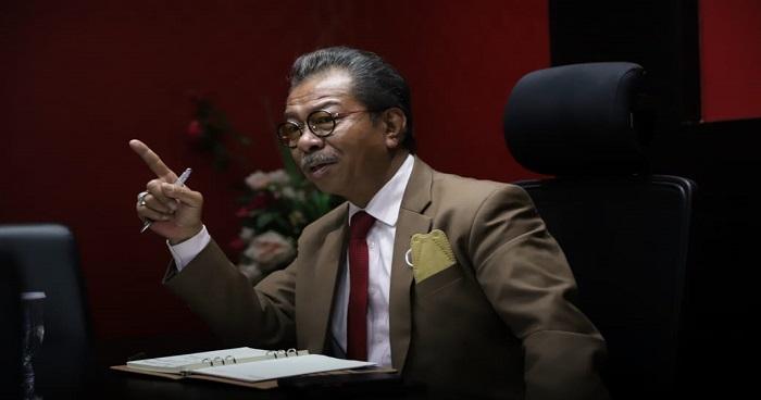 Ketua DPRD Kepri Jumaga Nadeak Saat Menyampaikan Pesan Kepada Mahasiswa