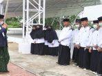 Wali Kota Batam Muhammad Rudi Saat Menyapa Para Santri
