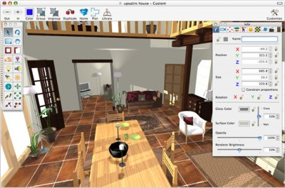 Interiors - Features   Create realistic Interiors ...
