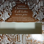 Waitrose Christmas 6 All Butter Mince Pies Box