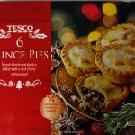 Tesco 6 Mince Pies Box