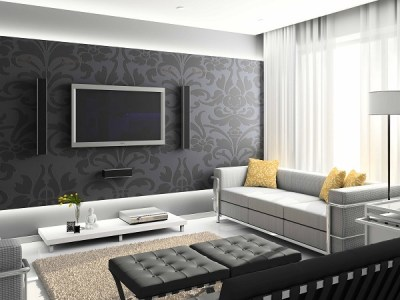 15 living room wallpaper ideas – types and styles of wallpapers
