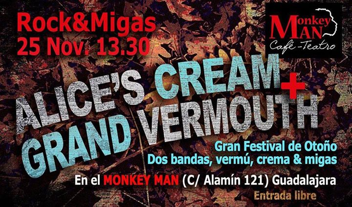Vermouth Musical con Alice's Cream Café Teatro Monkey Man