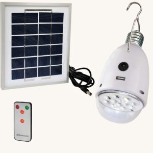 LED Solar Light Bulb