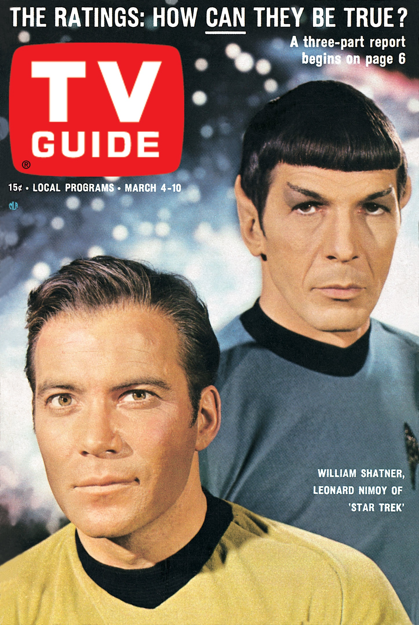Star Trek s first TV Guide Cover      Mission Log Podcast