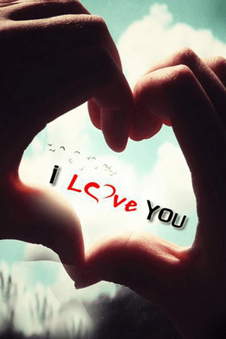 Download I Love You iPhone Wallpaper - Mobile Wallpapers - Mobile Fun