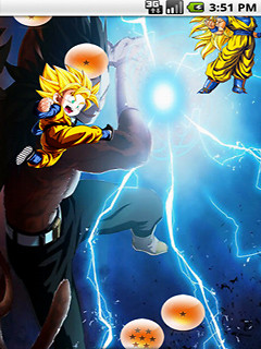 Dragon Ball Goku Vegeta Live Wallpaper Free Android Live Wallpaper download - Download the Free ...
