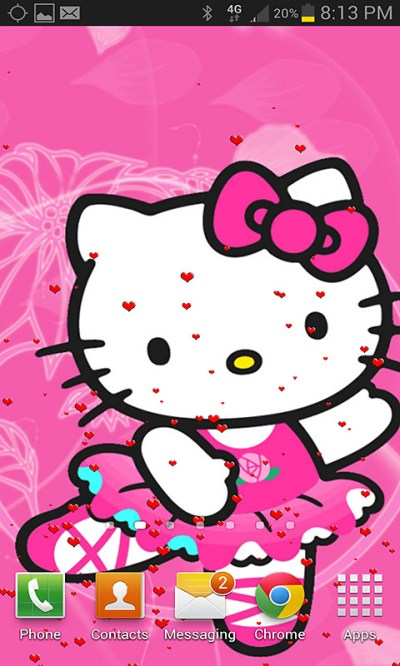 Hello Kitty Live Wallpaper Free Android Live Wallpaper download - Download the Free Hello Kitty ...