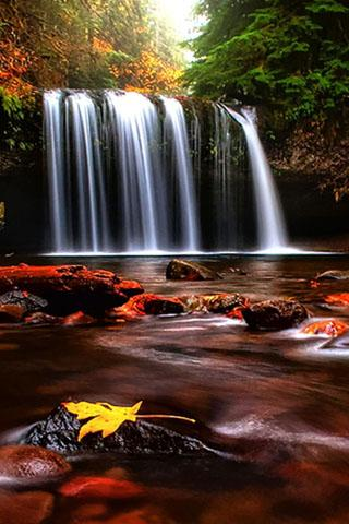 Download Free Android Wallpaper 3D Waterfall - 2250 - MobileSMSPK.net