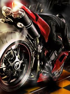 Download Fire Moto Gp Mobile Wallpaper | Mobile Toones
