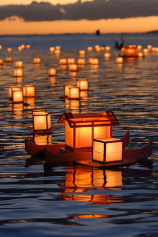 Download Lantern Floating Hawaii IPhone Wallpaper Mobile ...