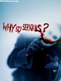 Download Why So Serious Mobile Wallpaper | Mobile Toones