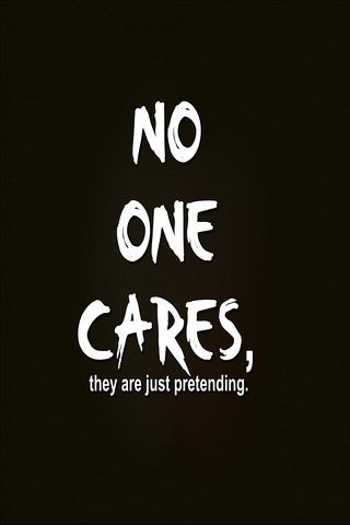 Download No One Cares IPhone Wallpaper Mobile Wallpaper | Mobile Toones
