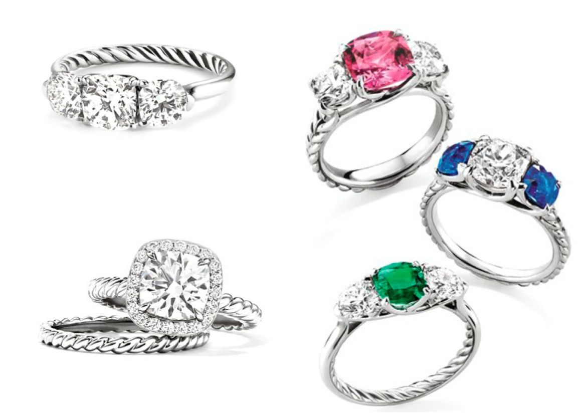 spotlight on david yurman wedding rings that symbolize the magic of lasting love david yurman wedding bands and the iconic cable aesthetic are just a few cornerstone design elements that we admire After all a wedding ring should be completely timeless