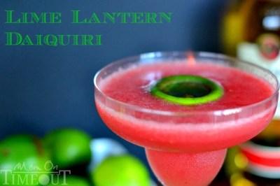 Lime Lantern Daiquiri - My Signature Cocktail! - Mom On Timeout