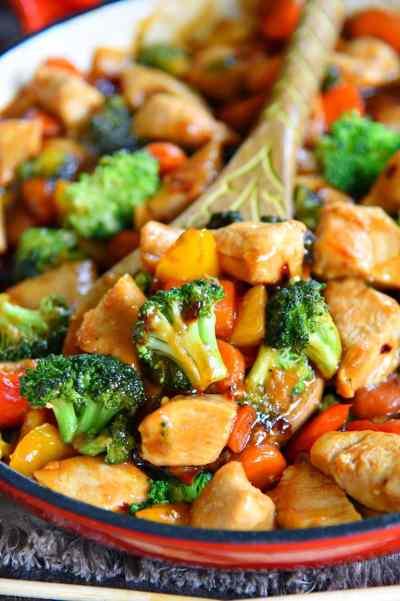 Easy Chicken Stir Fry Recipe - Mom On Timeout