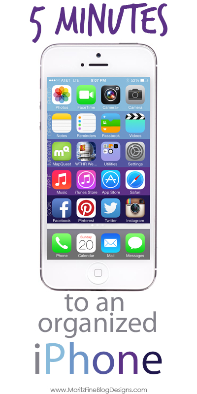 Organize your Iphone in 5 mintues! | Free Download
