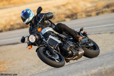 2018 Yamaha XSR700 Sport Heritage First Ride Review