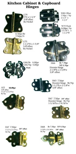 hoosierparts kitchen cabinet hardware hinges Kitchen Cabinet Parts HINGES