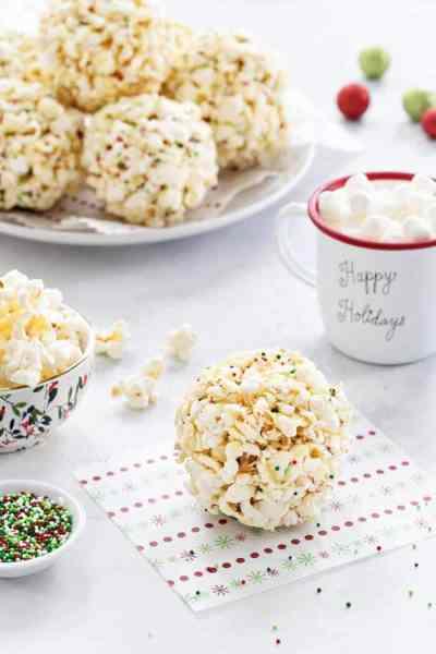 Popcorn Balls - My Baking Addiction