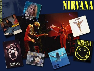 My Free Wallpapers - Music Wallpaper : Nirvana - Collage
