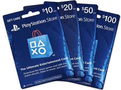 Buy US PSN Gift Cards - 24/7 Email Delivery - MyGiftCardSupply