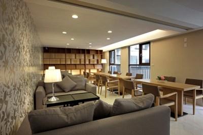 Residential Building Community Facilities by HOZO interior design - MyHouseIdea