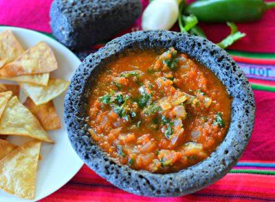 Salsa Roja Recipe - Better than restaurant salsa roja