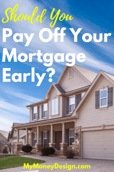 Should I Pay Off My Mortgage Early or Not? - My Money Design