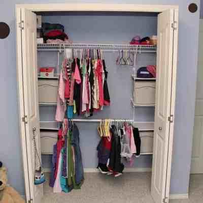 Home Depot: Rubbermaid Closet Helper