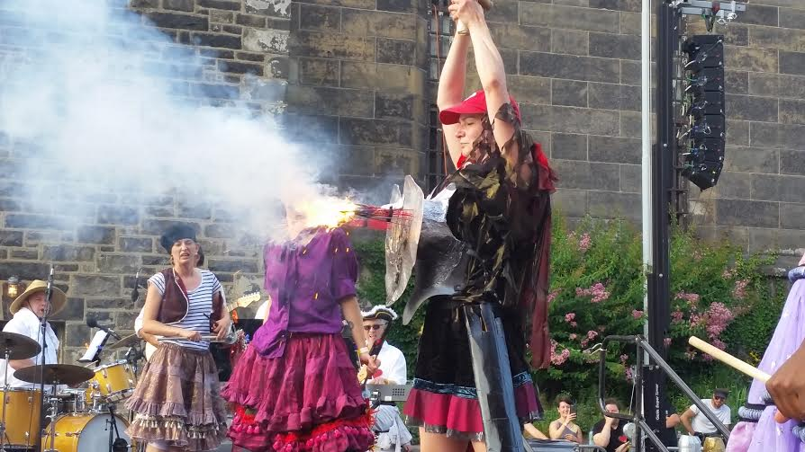 Witness a Fake Beheading  Storm the Bastille with Tastykakes Bastille Day at Eastern State Penitentiary