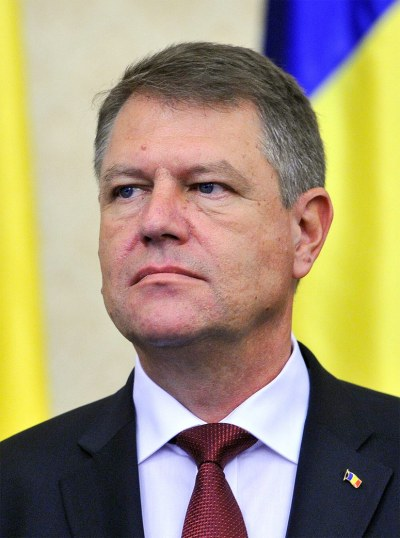 NATO - Biography: Klaus Werner Iohannis, President of Romania
