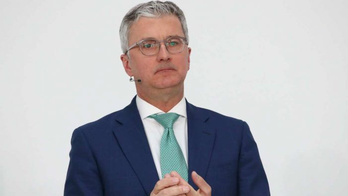 Volkswagen suspends arrested Audi CEO Rupert Stadler, names interim boss