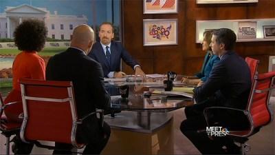 'Meet the Press' updates panel desk, creates interaction - NewscastStudio