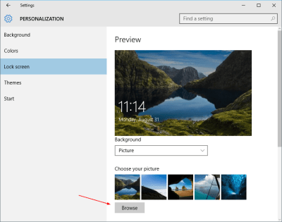 Where Are Desktop Wallpapers and Lock Screen Backgrounds Stored in Windows 10 - Next of Windows