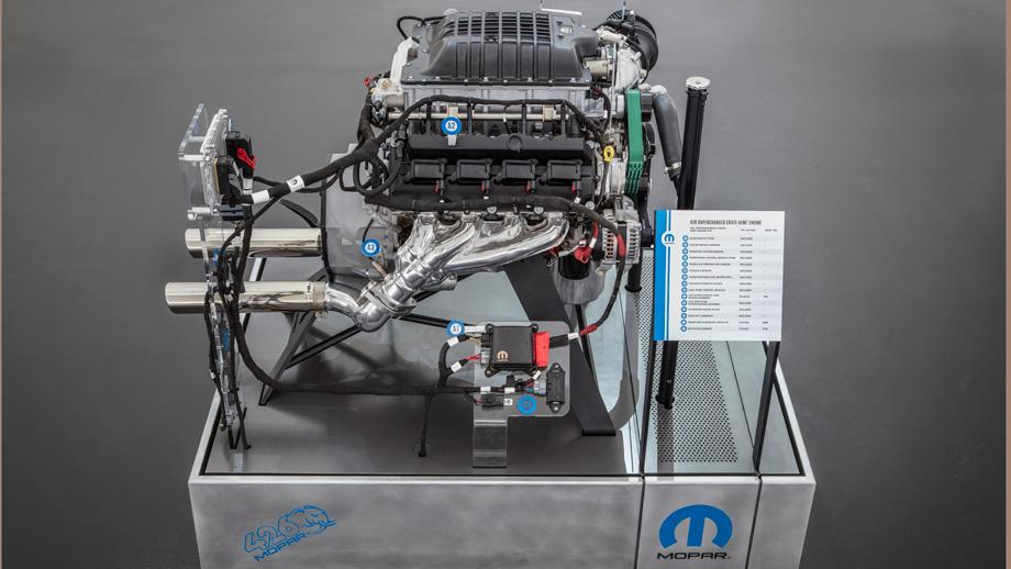 Mopar introduces 1,000-horsepower 426 Crate Hemi engine at ...