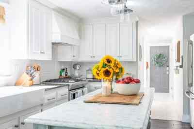 Simple Early Fall Kitchen Decorating Ideas | Nina Hendrick