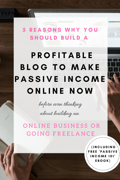 Reasons why you should focus on passive income online