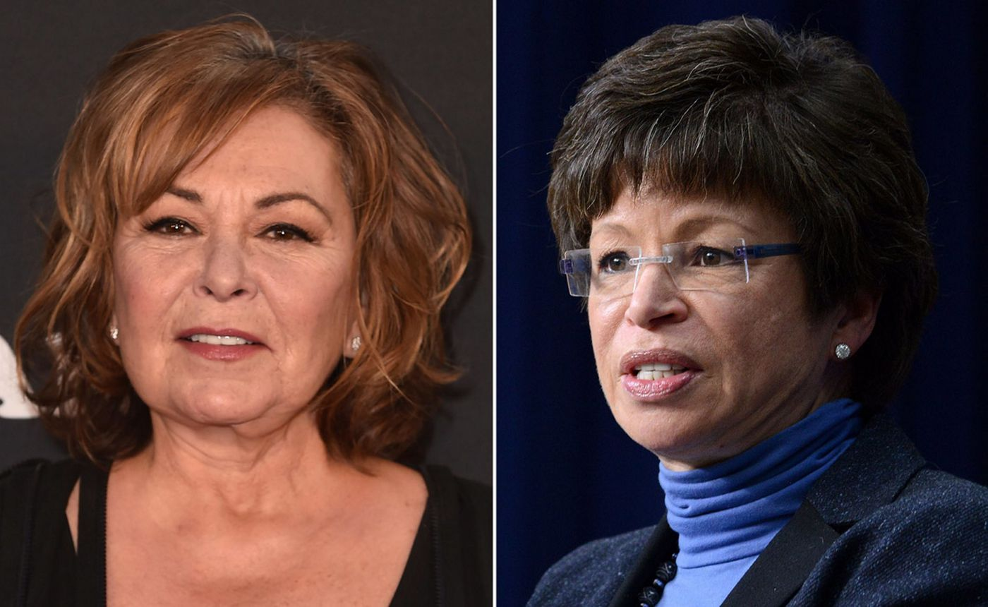 Roseanne Barr claims her tweet about Valerie Jarrett was actually     Roseanne Barr claims her tweet about Valerie Jarrett was actually about  anti Semitism     not