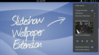 Desk Changer is a Wallpaper Slideshow Extension for GNOME - OMG! Ubuntu!