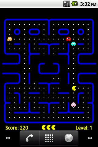 PacMan Live Wallpaper Android Themes best android apps free download