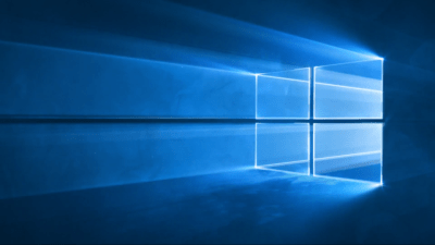 This is what the Windows 10 default desktop wallpaper will look like - OneTechStop