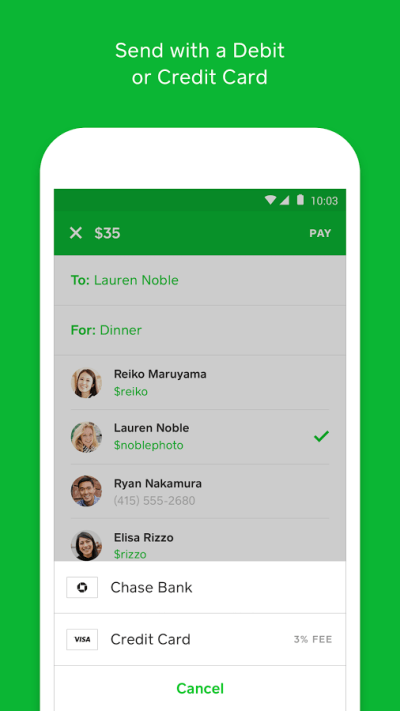 Square Cash Review - Finance Apps Directory - OppLoans