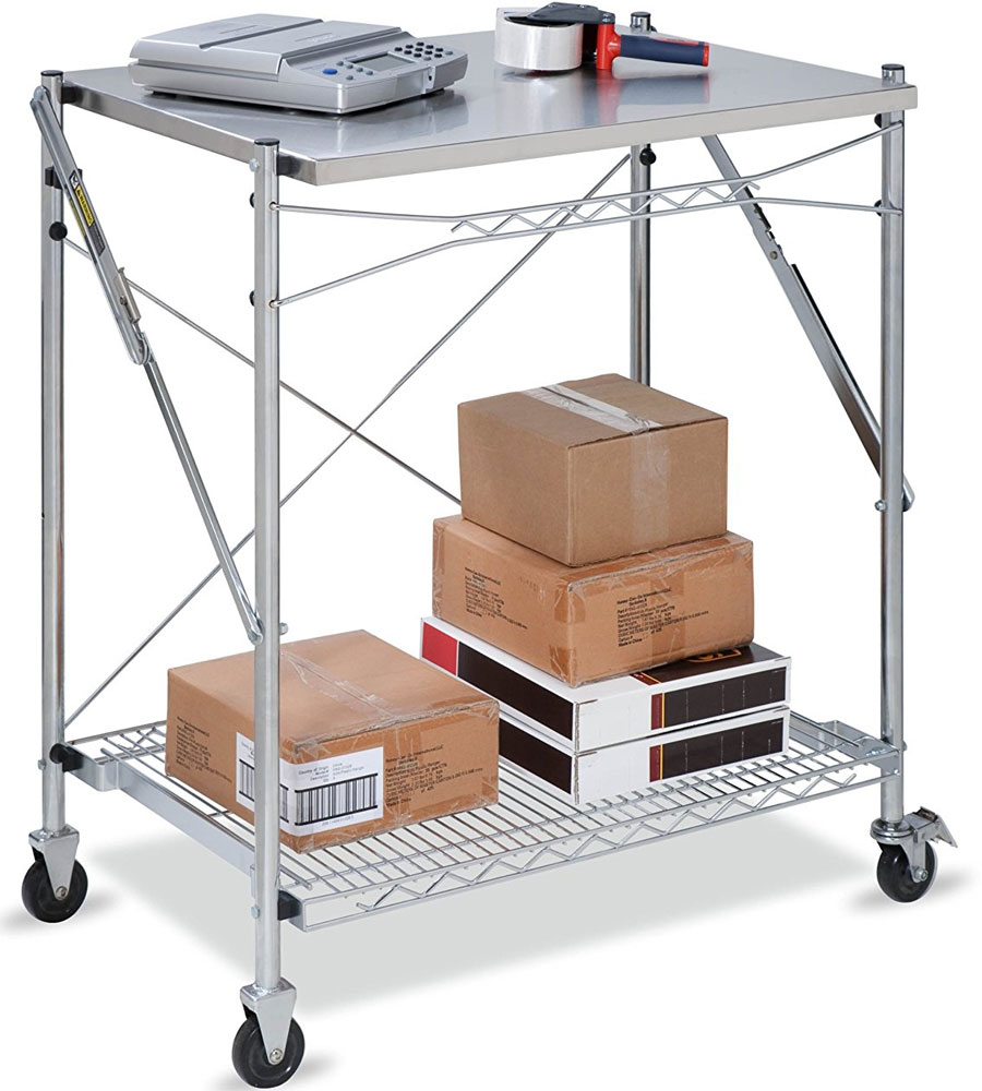 stainless steel folding utility table kitchen utility table Click any image to view in high resolution