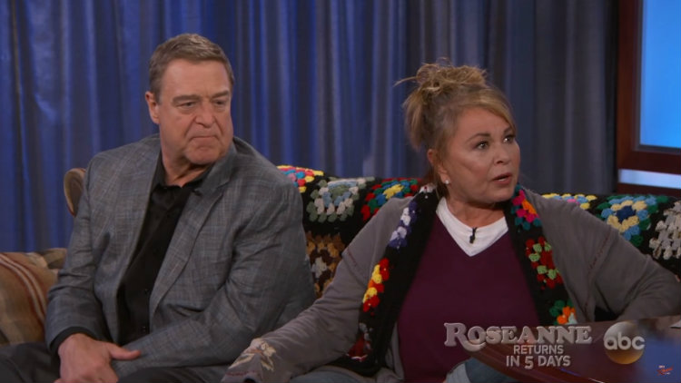 Roseanne Barr Defends Trump Support to Jimmy Kimmel