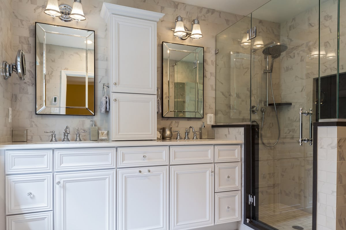 baltimore city home remodeling baltimore kitchen remodeling Baltimore Marble Bath Remodel